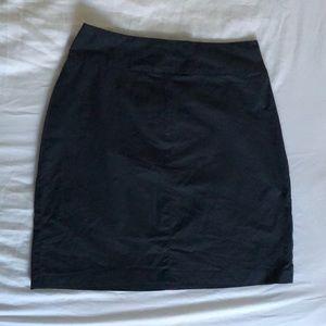 Sisley Navy Blue Mini Skirt
